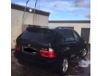 Black 4x4 BMW X5 sport for sale