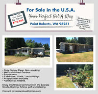 For Sale in the USA - Perfect Get-A-Way, Point Roberts, WA