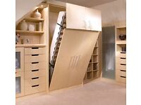 Wall Bed, Wardrobe Looking Bed, Folding Bed, Murphy Bed