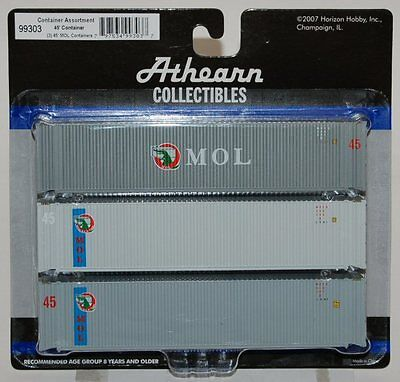 Athearn 45 Containers   Mol