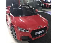 Audi TTRS, 12v, Parental Remote & Self Drive, Brand New ,12v Ride-On