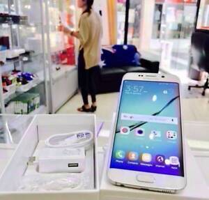 GREAT CONDITION GALAXY S6 EDGE 64GB WHITE UNLOCKED ACCESSORIES Surfers Paradise Gold Coast City Preview