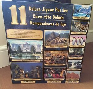 Unopened box of 11 Puzzles