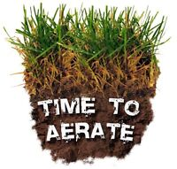 Fall Aeration, Fall Fertilizer, Offered By YPMG Maintenance
