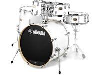Yamaha Stage Custom Birch + Mapex Soft Cases