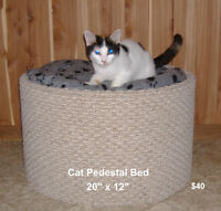 $40 · Pedestal bed for Cats, Brand New