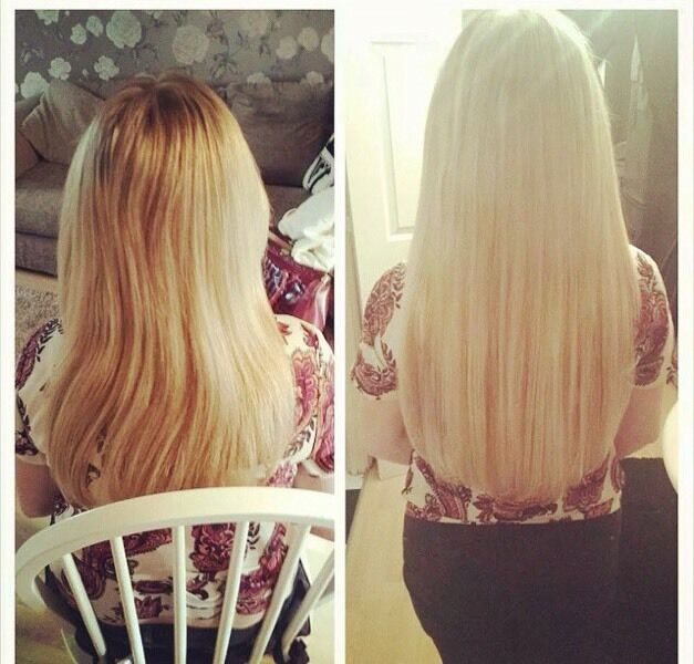 Hair extensions tape in mini lock nano ring micro ring fusion bond image 1 of 9 pmusecretfo Image collections