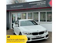 2018 BMW 5 Series 520i M SPORT Auto SALOON Petrol Automatic