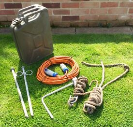 Boat bits jerry can mooring pins etc