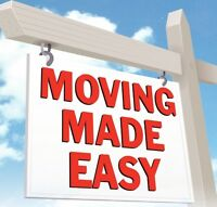 MOVING MADE EASY $150 special! 647 949 4733