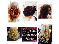 Crystal couture hair