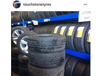 Tyre Shop / New Tyres & Used Tyres FITTED / Car Tyres & Van Tires / Part Worn TIRES / PartWorn TYRES