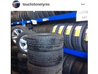 TYRE SHOP - Car Tyres / Van Tyres / New Tyres / Part Worn Tyres / Partworn Tires FITTED