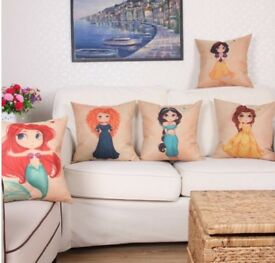 Disney Princess brand new cushion covers