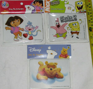 Dora, Sponge Bob Iron On - NEW in packages London Ontario image 1
