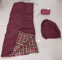 Sleeping bag insulated for winter with Duck Feathers