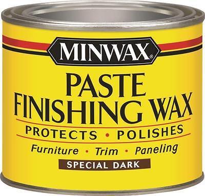NEW MINWAX 786004444 PASTE FINISHING WAX PROTECTS & POLISHES FLOOR DARK 6995922