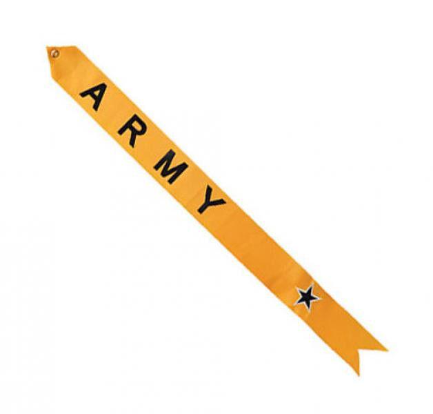 Military Service Flagpole Streamer Kit Blue Star Army