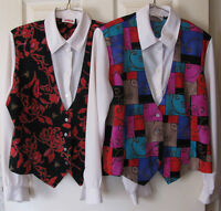 Ladies Fooler Top Blouse & Vest Size S Mixed Lot of 2