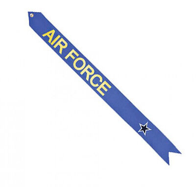 Military Service Flagpole Streamer Kit Blue Star Air Force