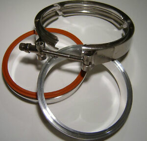 3 inch Aluminum V Band Clamp for Turbo or Intercooler