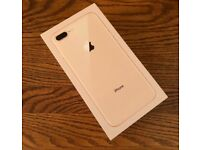 BRAND NEW APPLE IPHONE 8 PLUS 64GB EE GOLD