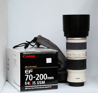 Canon 70-200 f4 IS lens