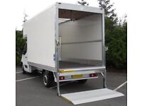 SMALL /BIG VAN & MAN HOUSE REMOVAL PIANO MOVERS LUTON DELIVERY OFFICE SHIFTING BIKE RECOVERY TRUCK