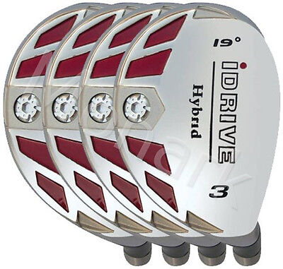 Idrive Hybrid 4 Club Set Right Hand Graphite Shafted  Choose  1 To Lw
