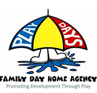 Play Days- Quality Childcare in Cochrane recruiting Providers!