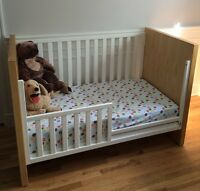 Baby Crib and Toddler Bed