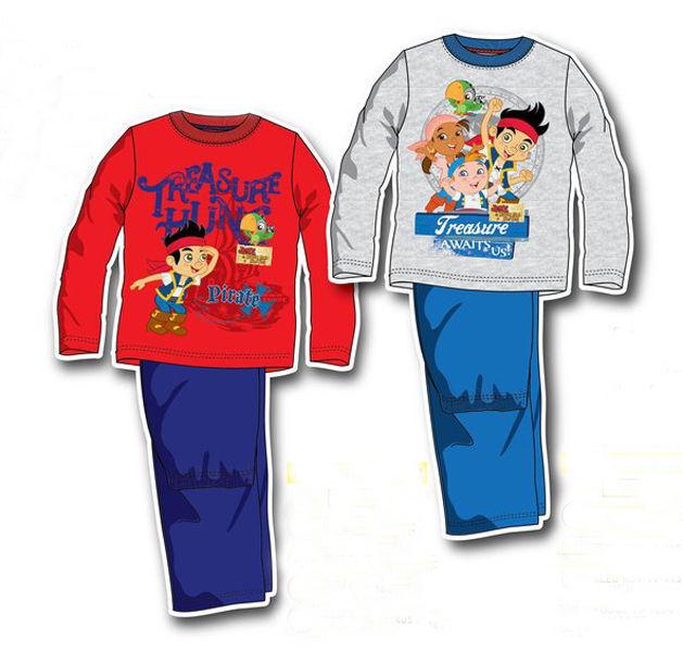 Disney Jake und die Nimmerlandpiraten Kinder Schlafanzug Gr.98-116  Pyjama neu