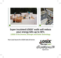 LOGIX ICF Insulated Concrete Forms