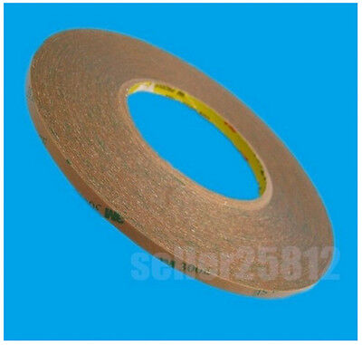 New 3mm55m Ultrathin High Viscosity 3m Clear Double-sided Tape Adhesive Stick