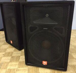 JBL JRX 100 speakers and more