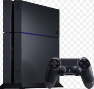 PS4 + Ecouteurs + 2 jeux
