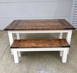 Two Rustic Tables!!