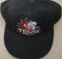 Team Canada Nagano 98 Olympic hockey cap