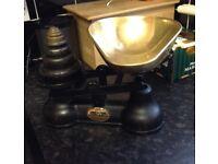 Salter Brass / Iron Weighing Scales & Weights