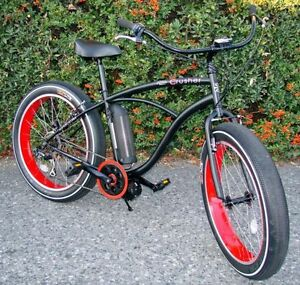 FAT BIKE ON SALE!  Electric Fat Tire Beach Cruiser North Shore Greater Vancouver Area image 5
