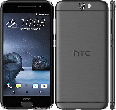Htc One A9 16Gb Carbon Gray At T Unlocked Gsm Android Smartphone 4G Lte 13Mp