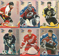 2000-01 MCDONALDS (PRISM) NHL COMPLETE SET WITH CHECKLISTS