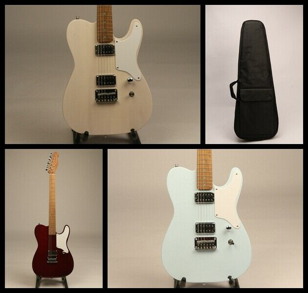 Solid  Electric Guitar Custom Series Roasted Maple Neck USA