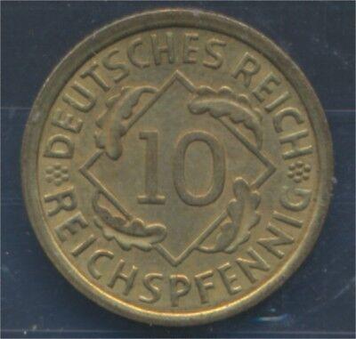 Deutsches Reich Jägernr: 317 1935 A Stgl./unzirkuliert 10 Reichspfennig (7879637