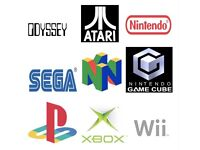 Wanted video games n64,Wii,Ds,Ps1,ps3,ps4