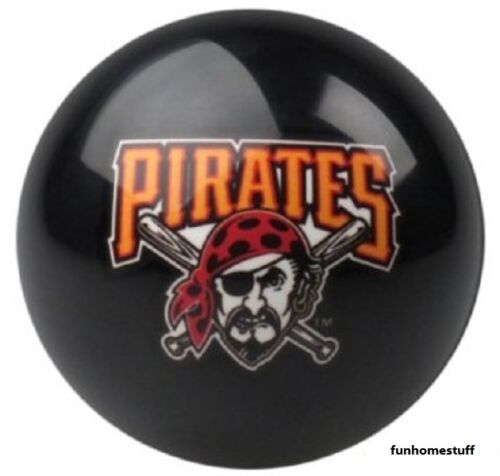 NEW PITTSBURGH PIRATES BLACK MLB BILLIARD GAME TABLE REPLACEMENT POOL CUE 8 BALL