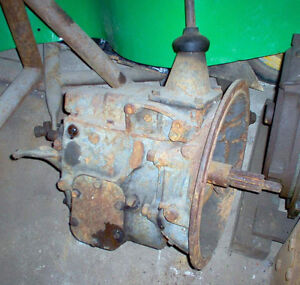 ANTIQUE REO TRUCK TRANSMISSION  4 SPEED