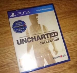 UNCHARTED THE COLLECTION - 3 GAMES - MINT