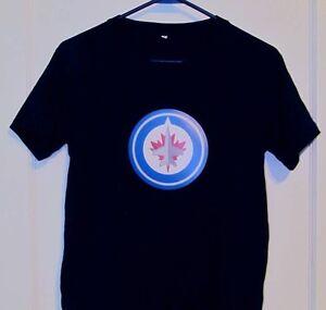 Winnipeg Jets Electronic Flashing T Shirt  NEW