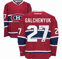 Alex Galchenyuk signed Montreal Canadiens jersey with COA